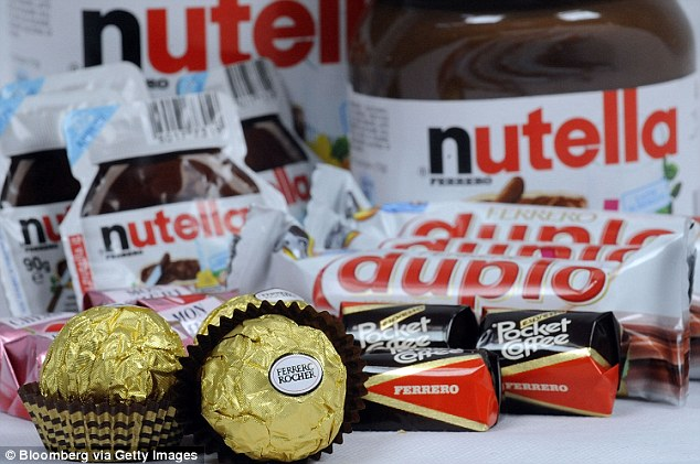 Yum! Ferrero is hiring 60 'sensory judges' to taste-test its products, which include Nutella, Ferrero Rocher truffles, Tic Tacs, and Kinder chocolate candy