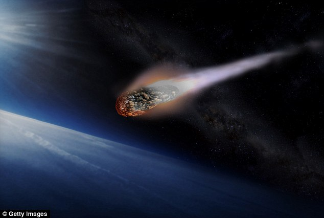 A massive asteroid estimated to be double the size of a Boeing 747 is headed toward a close approach with Earth next week. But, it's expected to make a safe pass at 13 times the distance between Earth and the moon. Artist's impression pictured