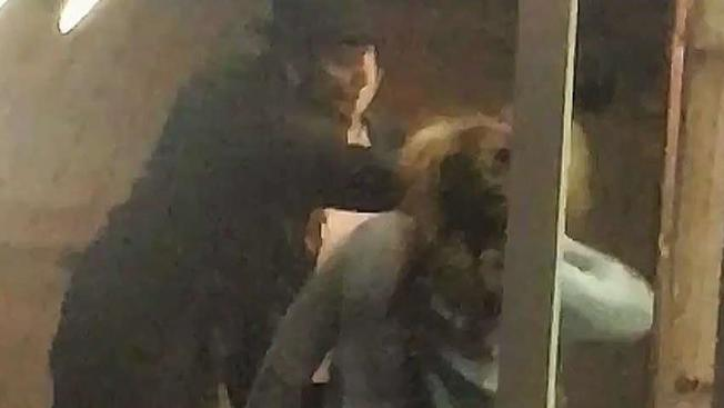 Kết quả hình ảnh cho Video Released Showing Man Punch Woman in Face in Gaslamp Quarter